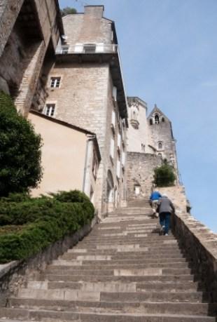 Risultati immagini per rocamadour grand escalier