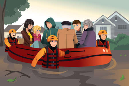 Image result for CLIPART FLOOD RESCUE