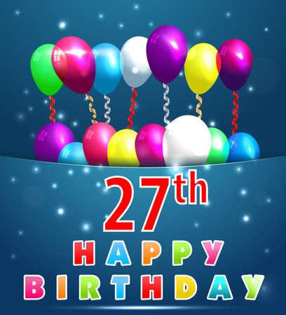 Geschenk Zum 27 Geburtstag Jubilaum Ortsschild Geschenkidee Party