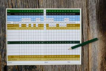「ゴルフスコアシート写真素材」の画像検索結果
