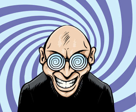 Hypno Googles man Stock Vector - 12953998