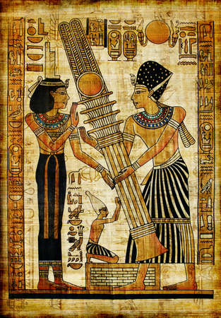 ancient egyptian papyrus Stock Photo - 3800272