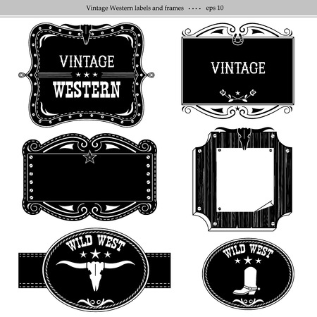 Old Western Style Picture Frames | Frameswalls.org