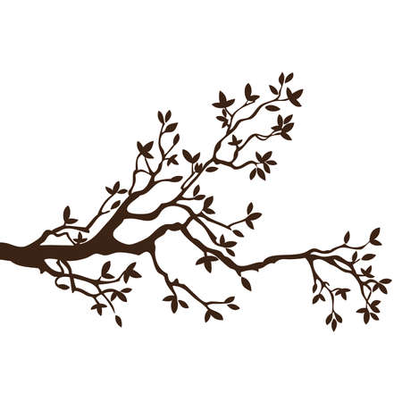 Tree Branch element Stock Vector - 41334299