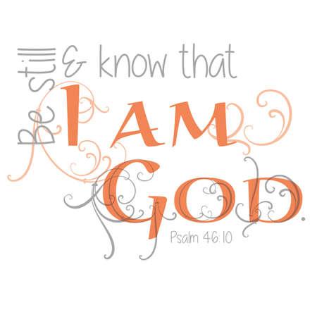 scripture: Inspirational Scripture Typography