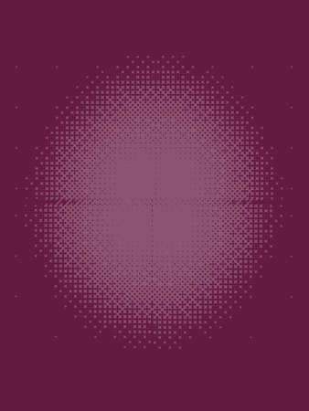 Dark Rose Halftone Patterned Texture Stock Photo - 57000079