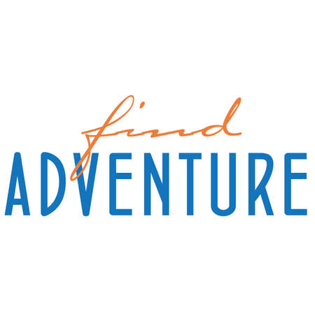 Find Adventure Typography Stock Vector - 68719212
