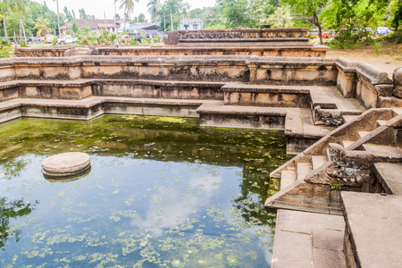 Bathing Pool (Kumara Pokuna) At The Ancient City Polonnaruwa,.. Stock  Photo, Picture And Royalty Free Image. Image 93011145.