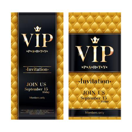 carte d invitation vip modele de design