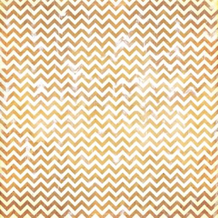 Orange/gold grunge Chevron Pattern