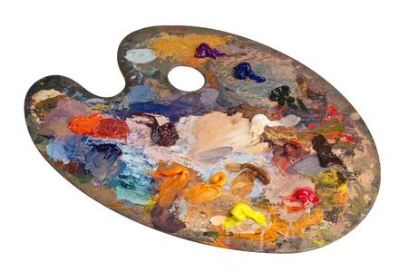 Palette De Peintre Imagenes Y Fotos 123rf