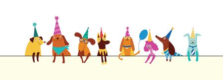 5 097 Happy Birthday Dog Cliparts Stock Vector And Royalty Free Happy Birthday Dog Illustrations
