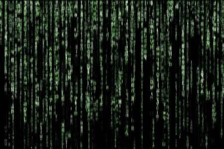 matrix: green matrix background computer generated