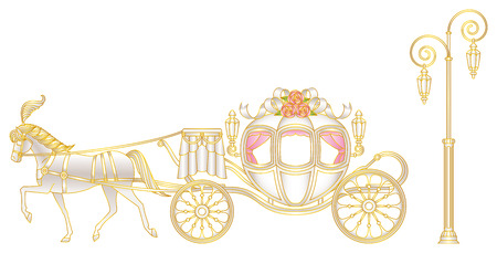 Carriage Silhouette Png Clip Art Image Silhouette Png Art