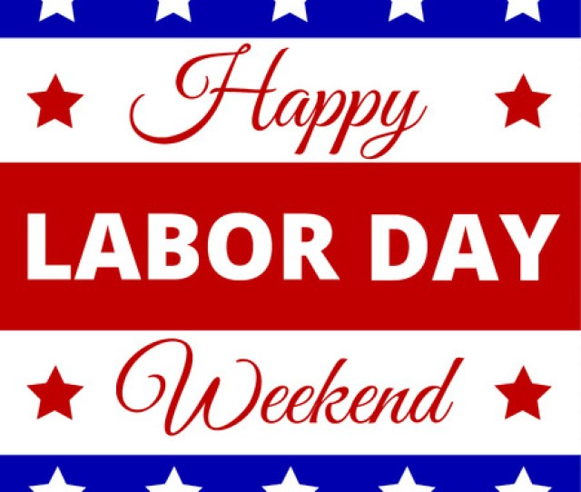 Happy Labor Day Poster For American Holiday