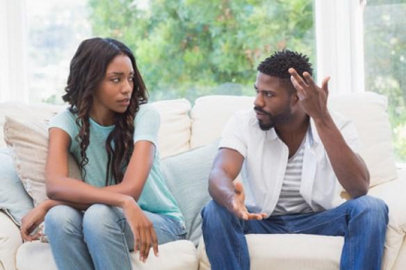 Image result for black quarelling couples