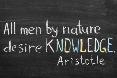 Risultati immagini per aristotele conoscenza