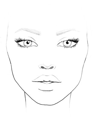 Face Chart Stock Photos And Images 123rf