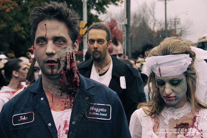 Marcha Zombie