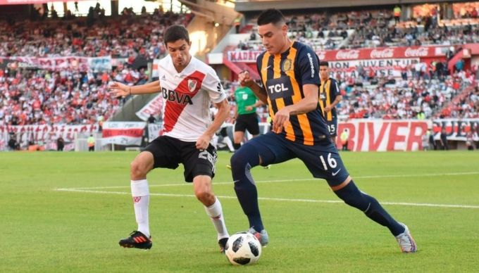 "River venció 2 a 0 a Rosario Central en el ""Monumental"""