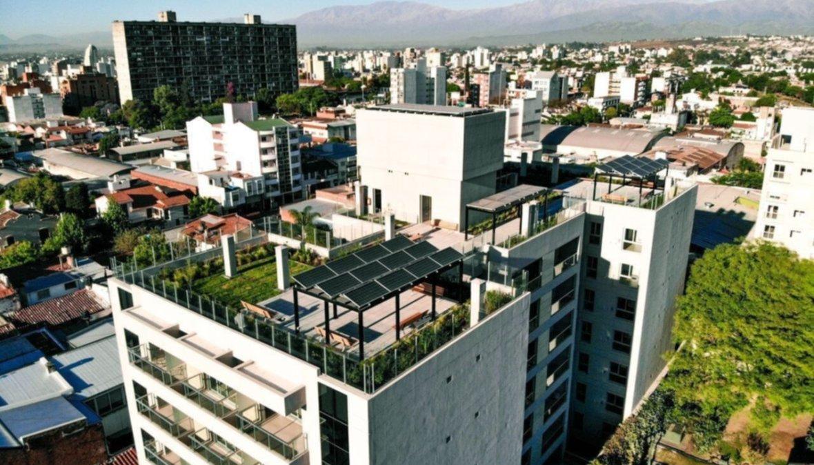 Un edificio sustentable al alcance de los salteños