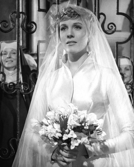 Maria Maria Von Trapp Julie Andrews Wedding