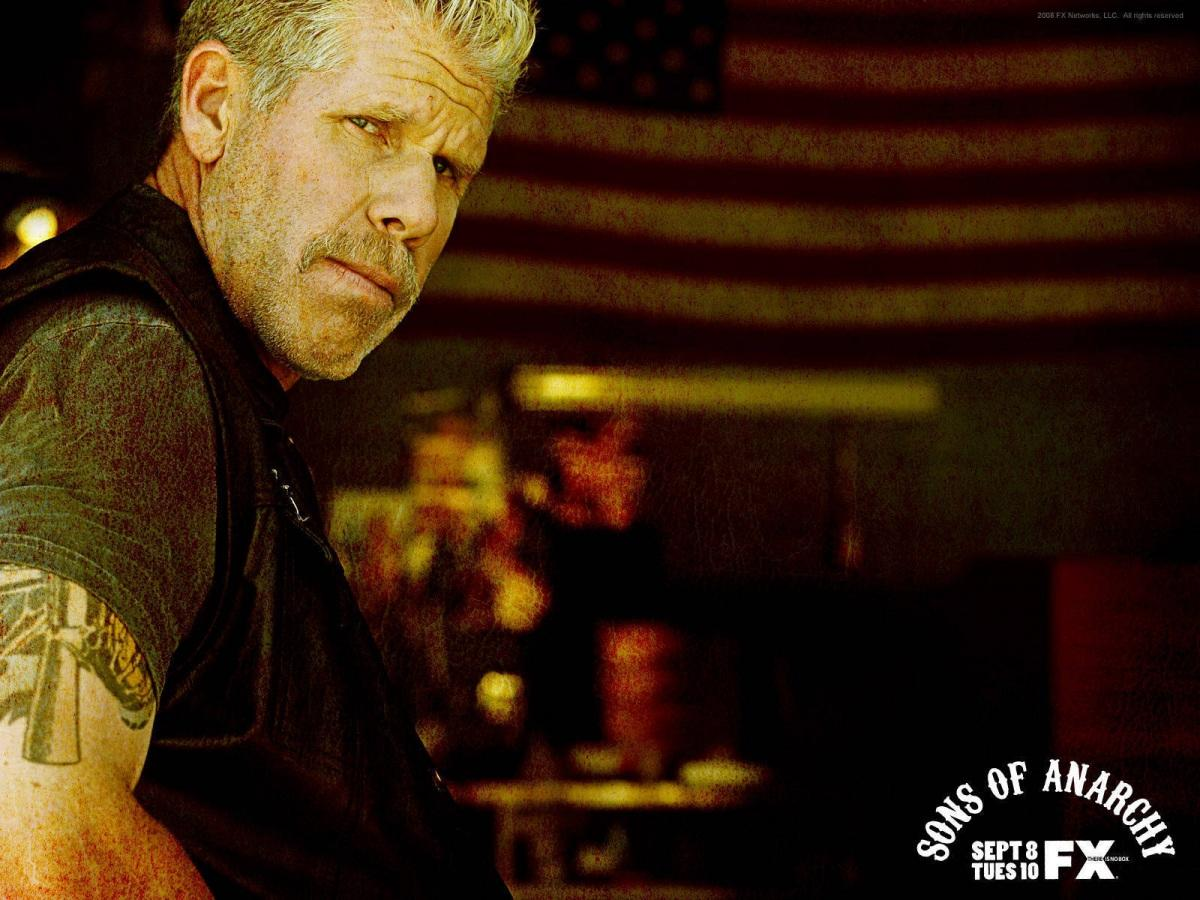 Clay Morrow Sons Of Anarchy Wallpaper