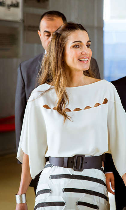 The Weeks Best Royal Style Queen Rania Princess