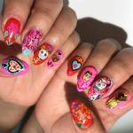 Recreate These Frida Kahlo Inspired Nails At Your Next Salon Appointment Photo 1