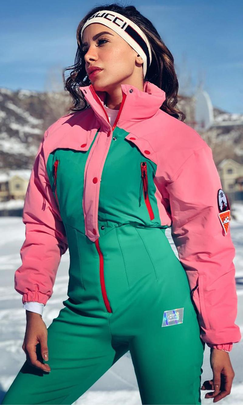 Anitta in Aspen, Colorado