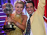Helio Castroneves, and Julianne Hough (ABC)