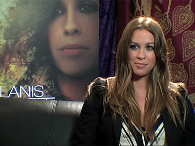 Shine chats with... Alanis Morissette