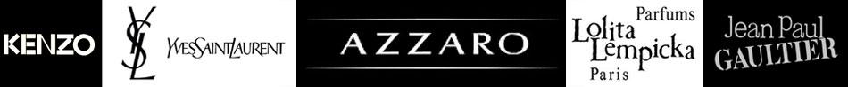 Logos Kenzo - YSL - Azzaro - Lolita Lempika and Jean-Paul Gaultier