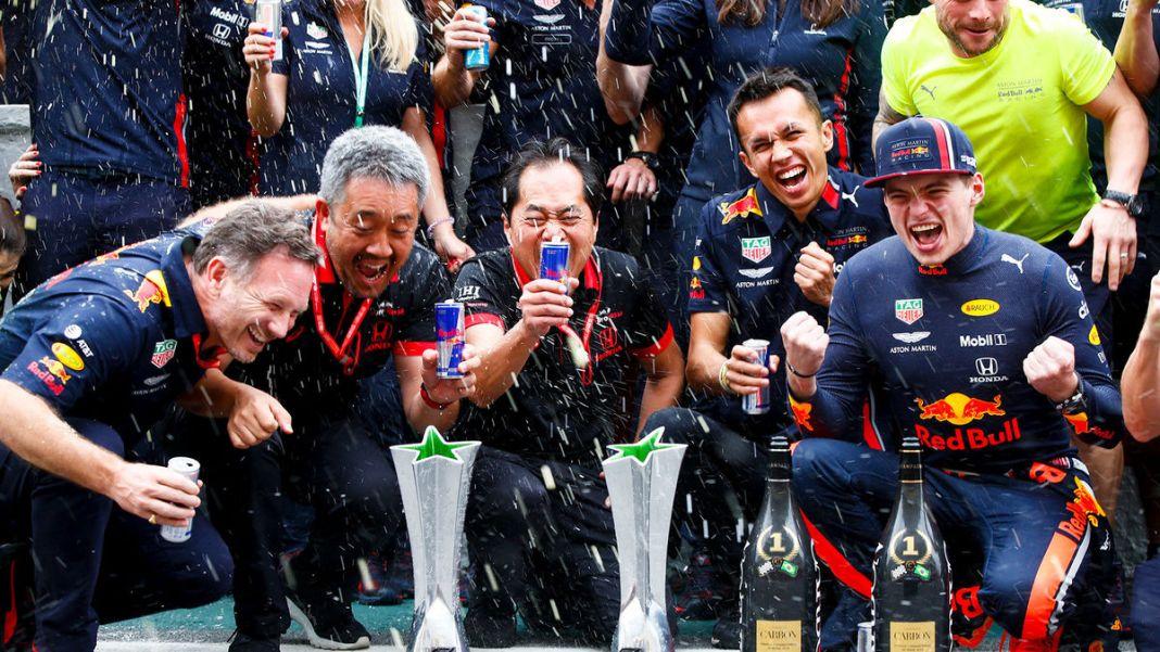 Max Verstappen Leads Honda-Powered 1-2 Finish in Brazil