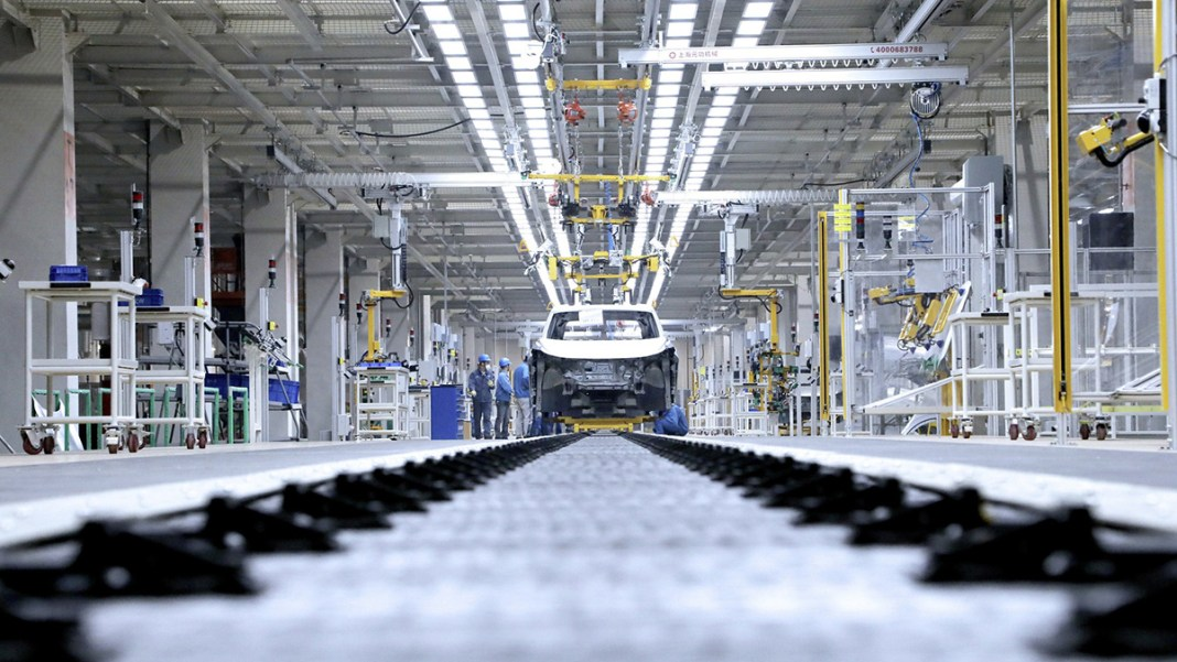 Volkswagen starts pre-production in China