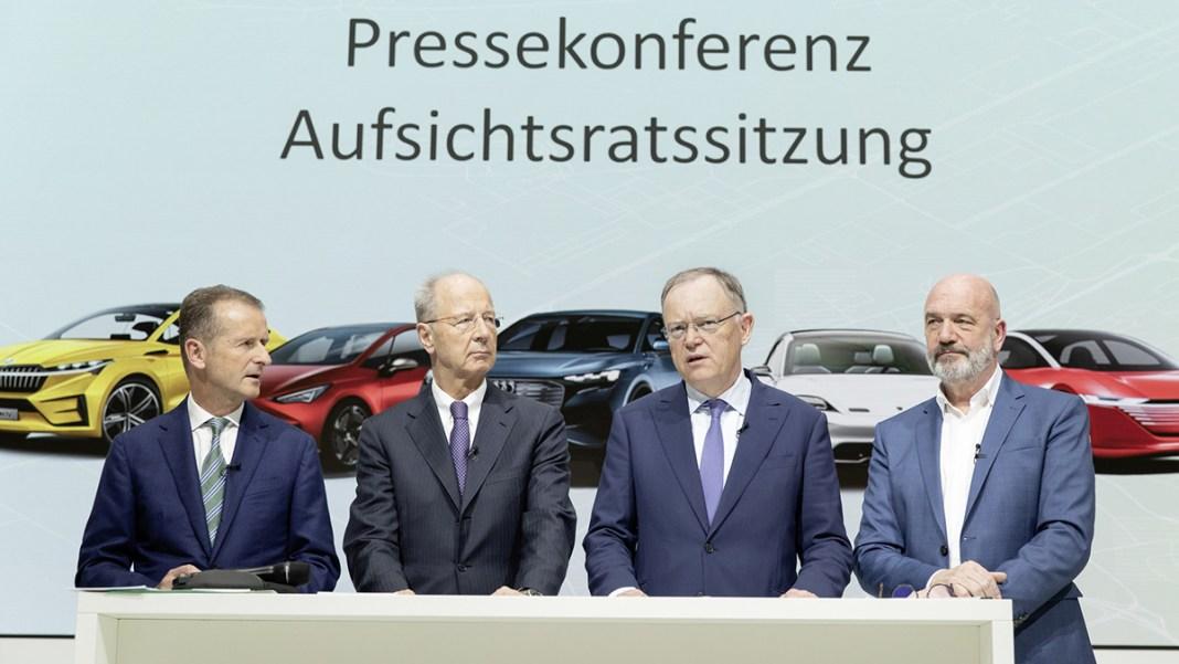 Volkswagen Aufsichtsrat - Pressekonferenz