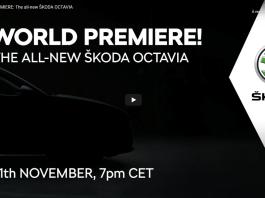 Livestream 2020 Skoda Octavia Word Premier