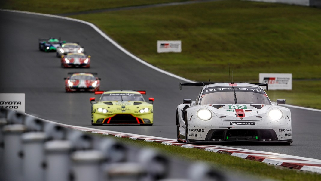 WEC: Porsche extends world championship lead with double podium result