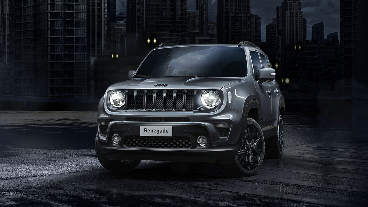 Head To The Dark Side With Jeep Renegade And Compass Night Eagle Motors Actu