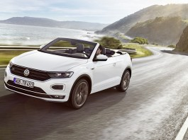 The new Volkswagen T-Roc Cabriolet R-Line