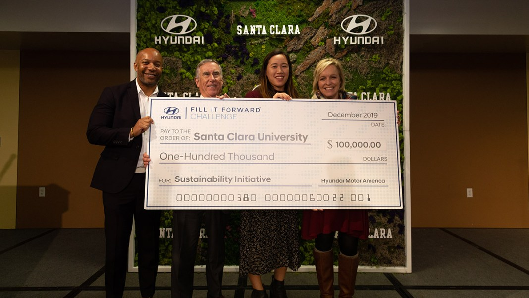 Hyundai Awards Santa Clara University