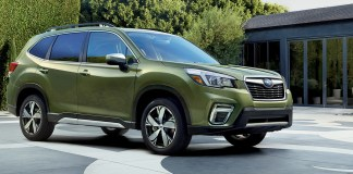 2020 Forester Touring