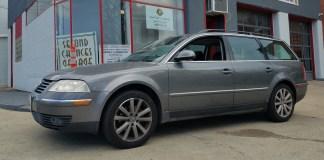 Second chances garage donates Volkswagen Passat to a deserving driver