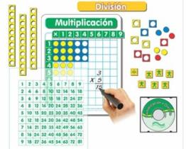 Tablero de División Básico Magnético de Matemáticas