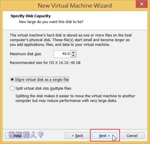 用VMware Workstation 11虛擬機器在 Windows 上執行 Mac OS osvm-10