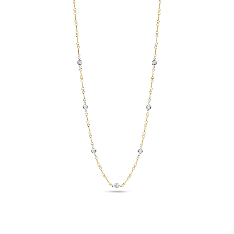 Roberto-Coin-Diamonds-by-the-Inch-18K-Yellow-Gold-and-18K-White-Gold-Dogbone-Chain-Necklace-with-Diamond-Stations-001824AJ18X0 copy