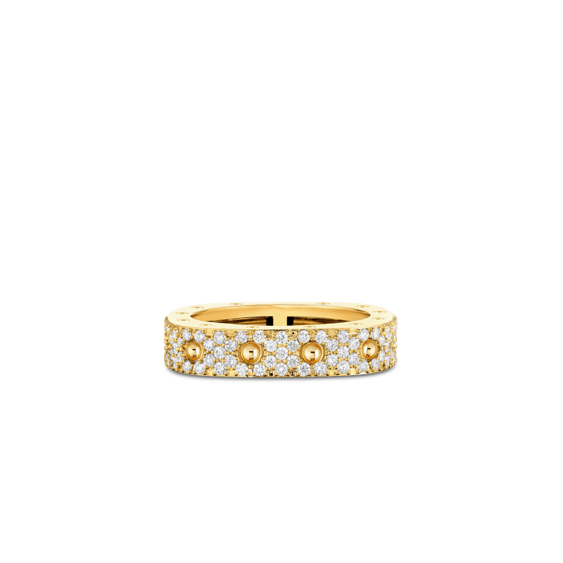 Roberto-Coin-Pois-Moi-18K-Yellow-Gold-1-Row-Square-Ring-with-Diamonds-888703AY55X0