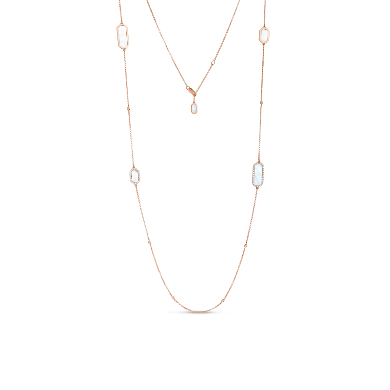 Roberto-Coin-Tiny-Treasures-18K-Rose-Gold-Art-Deco-Station-Necklace-with-Diamonds-and-Mother-of-Pearl-8882022AX31J copy