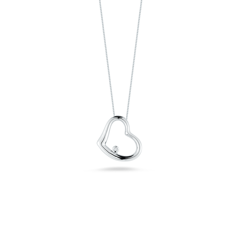 Roberto-Coin-Tiny-Treasures-18K-White-Gold-Slanted-Heart-Pendant-with-Diamonds-023204AWCHX0