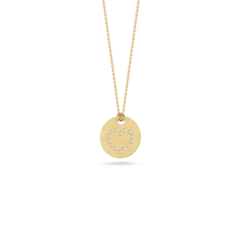 Roberto-Coin-Tiny-Treasures-18K-Yellow-Gold-Disc-Pendant-with-Diamond-Heart-000810AYCHX0